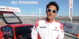 Dai Yoshihara at Las Vegas Motor Speedway