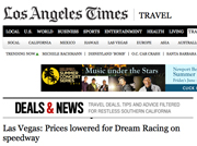 Dream Racing on Los Angeles Times Website