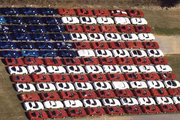 corvettes-at-carlisle-american-flag-of-corvettes